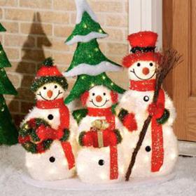 サンタクロースクリスマス飾りつけ